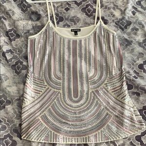 Express blinged out, flowy tank M